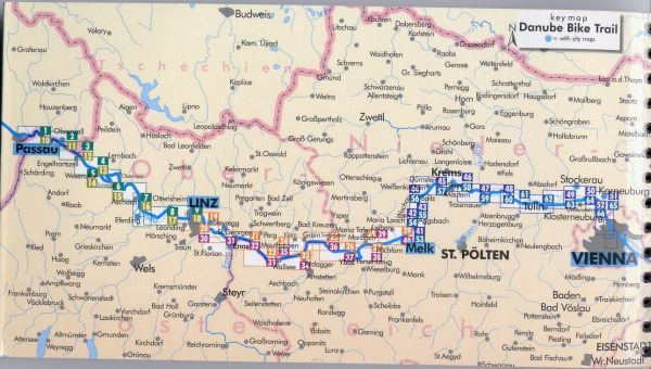 Biking The Danube Introduction: Map Of Danube River In Germany At Infoasik.co