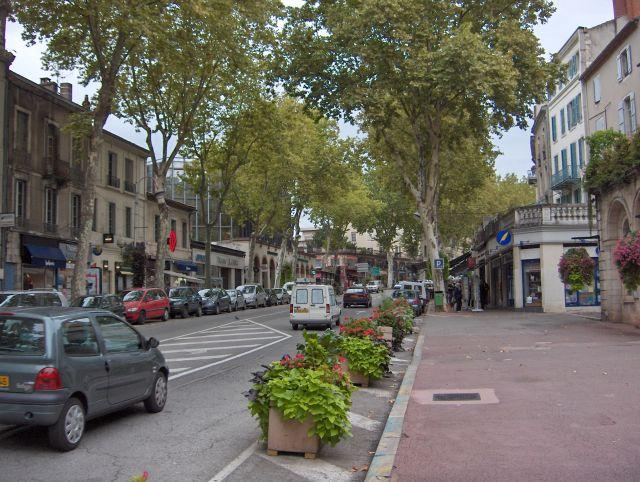 Main Ping Street Of Cahors