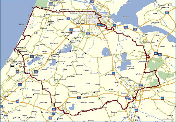n Bike Tour of Holland Day 1