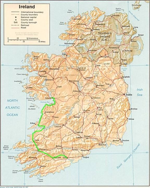 Biking The Southwest Of Ireland