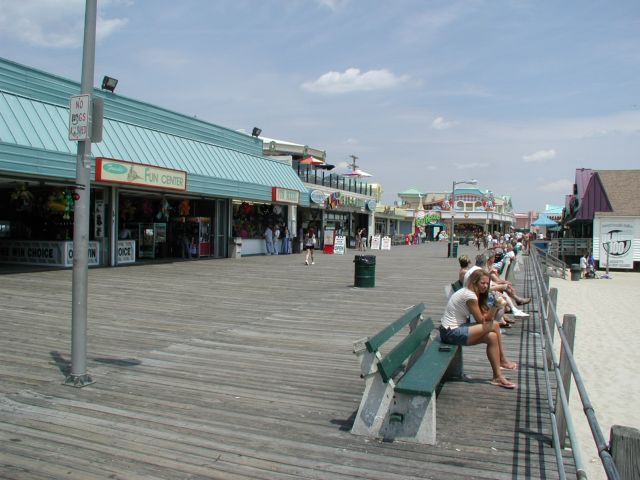 Bikes Point Pleasant Nj The boardwalk at Point